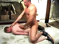 gay son father bareback