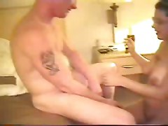 Homemade BBW Sexy Glassess Smoking Blowjob Wife Films Hubby HubbiesAmateur Home made Swingers