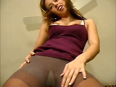 Autumn Pantyhose Tights Solo Dressed Clothed Tease Teasing Teaser PoseTeens 18  Solo Other Fetish