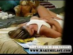 cumshot hardcore blonde tan blowjob shaved pussylicking pussyfucking