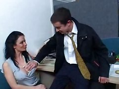 Sexy Office Threesome Mff - Very Sexy!