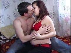Pregnant BlowjobBJ HJ Redhead Extreme