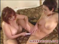 Kay Stevens and Rebeca Love horny lesbians