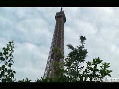 Public Banging By The Eiffel Tower