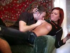 cumshot hardcore blowjob shaved redhead deepthroat pussylicking pussyfucking