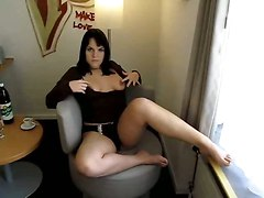 solo masturbation amateur homemade brunette big tits chubby blowjob handjob deepthroat gagging ass cumshot facial pov teasing