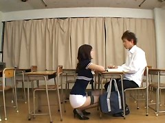 blindfold asian tight japanese stockings lingerie teacher reality school fetish kissing teasing ass panties pussylicking 69 fingering blowjob handjob doggystyle cumshot facial masturbation big tits fishnet
