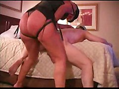 brunette strapon girlfucksguy
