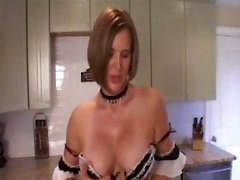 maid blowjob stockings panties pantyhose milf mature skirt blowjob