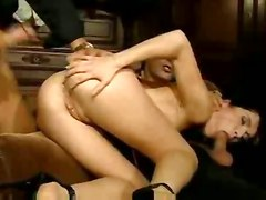 anal cumshot hardcore babe blowjob wife threesome penetration oral voyeur double husband