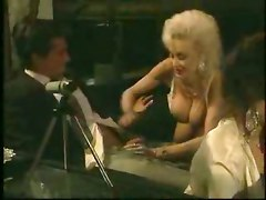 big tits skinny milf blonde hardcore foursome groupsex retro vintage couch cumshot blowjob