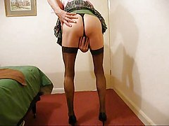 Masturbation Shemales Stockings