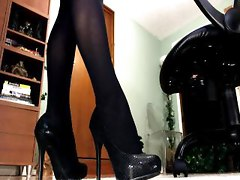 diva feet toes legs femdom stockings domina tease denial high heel