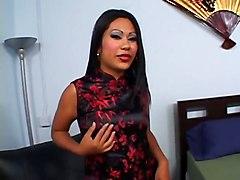 Asian Kyanna Lee Beaver BedAsian