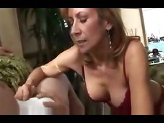 blowjob mature likes sperm