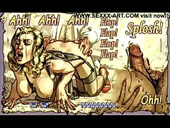 cartoon toon comic art artwork bondage bdsm fetish