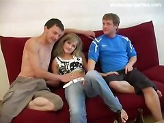blowjob group teen drunk