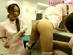 lesbian oiled asian nurse sextoys japanese jap enema