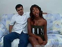 Ebony Creampie BoobsfuckingstraighthardcorecunnilingusblowjobHardcore BJ HJ Interracial Creampie