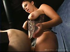 Femdom Cum StraponOther Fetish Feet Extreme Spanking