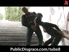 fetish hot humiliation scene streets