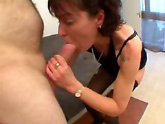 amateur french milf mature stockings nylon brigitte lingerie anal sodomize allholes facefuck doggstyle ass old granny bitch whore lick suck blowjob handjob finger anus asshole bigcock dick Brigitte br