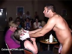  party amateur homemade handjob mature cfnm drunk