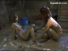 Girl Getting Raped Kicked Pussy Licked Fingered In Mud Bath