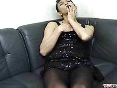 solo transsexual sex toy ass hole pantyhose