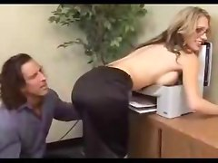 Secret Office Affair With A Fox  milf pussy