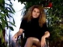 pornstar classic vintage retro stockings maid costume fetish blonde hairy pussy hairy