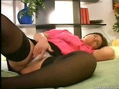 hardcore blowjob stockings facial fat