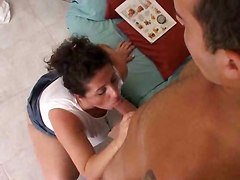 milf big tits tits fuck cumshot hairy