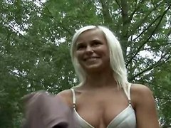 Amateur Blondes Public Nudity