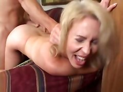 doggystyle ass anal hairy big tits masturbation riding cumshot facial blonde