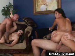 hardcore milf blowjob foursome groupsex pussyfucking swingers