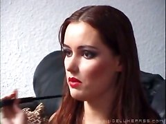 threesome BDSM lick anal deep throat