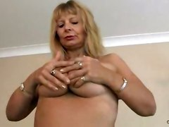 big tits amateur mature busty masturbation solo housewife hair anilos