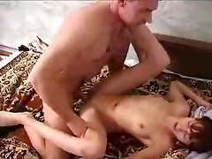 Father and daughter home sex
