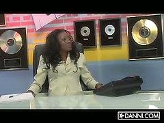 Jada Fire & Nyomi Banxxx In Recording Delight