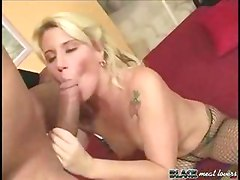 White cunt licked by big cock black