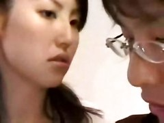 cumshot pussy blowjob teacher hairy asian korean