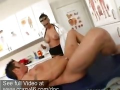 Blonde Big Tits Reality Riding Doctor Glasses