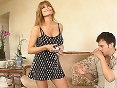 mom  mature  milf  big tits  wife  housewife  home  redhead  long hair  massive tits  beautiful tits  sofa  fat cock  sexy  hot  mini  mini dress  dress  blowjob  tits fuck  lick  moan Darla Crane  Anthony Rosano