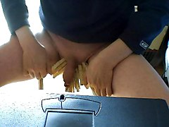Removing Clothespins From Your Genitals!