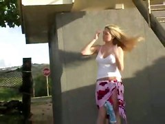 PublicBig Boobs Upskirt Down Blouse Public   Out Door
