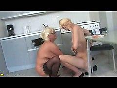 Old Lesbian Mature Hardcore Mature Lesbian MILF Blonde