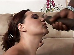 brunette  mini  beautiful ass  interracial  big cock  black cock  blowjob  housewife  hairy  cock ride  milf  facial  cumshot Jersey Cummings
