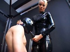 German Latex Lady StraponBig Boobs Other Fetish Bizarre