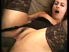 Busty Facials Interracial